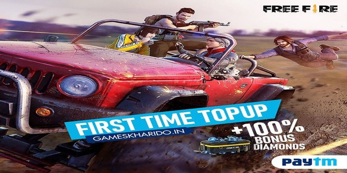 Free Fire Games Kharido Top Up 1 on