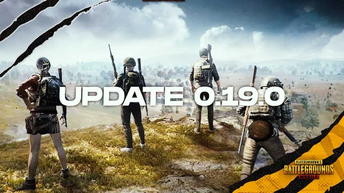pubg mobile update 0.19.0 on