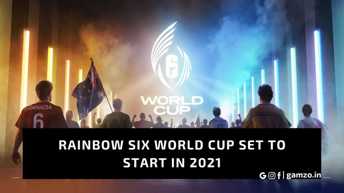 Rainbow six world cup announced, set to start in 2021