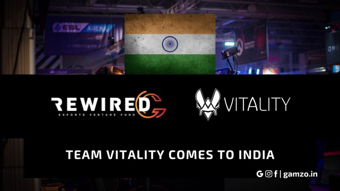 team vitality comes to india