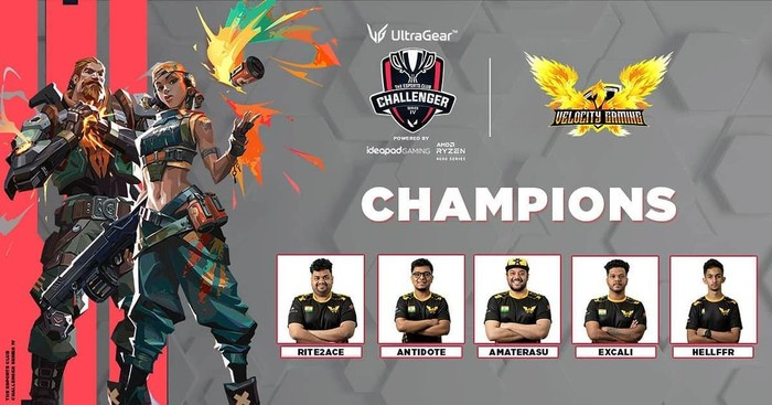 Velocity Gaming wins The Esports Club Challenger Series 4
