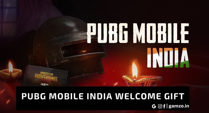 Pubg Mobile India Welcome Gift on
