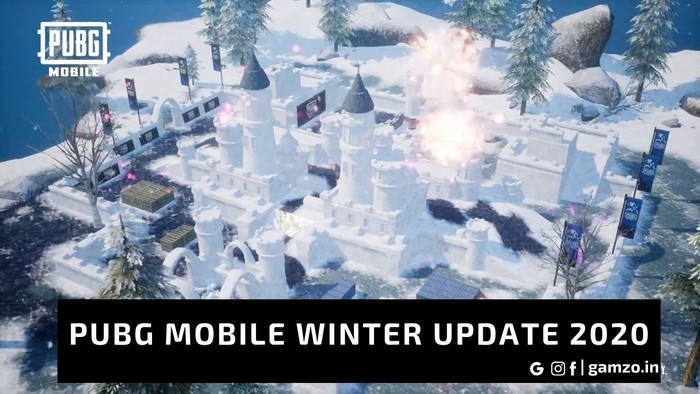 The PUBG Mobile Winter Update is coming out