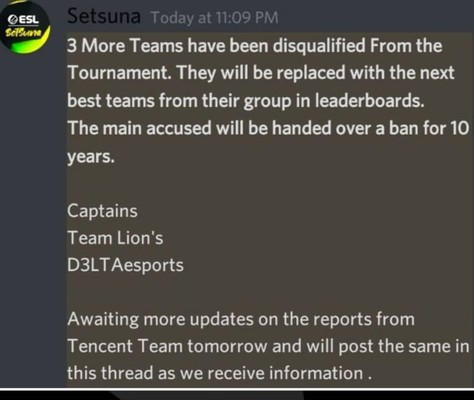 three more teams get banned from pubg mobile pakistan challenge season 2.