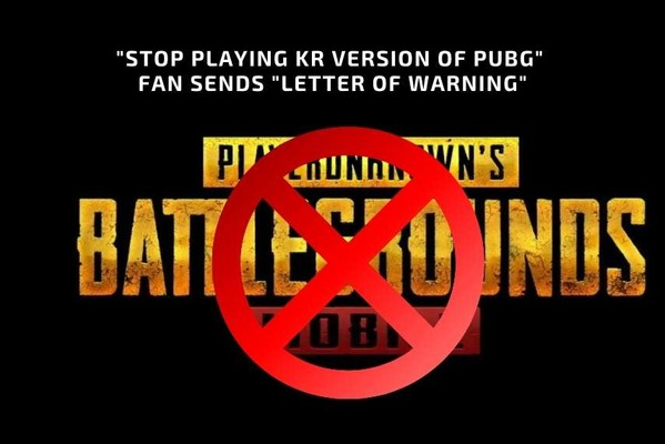 avoid playing Kr version of PUBG Mobile on