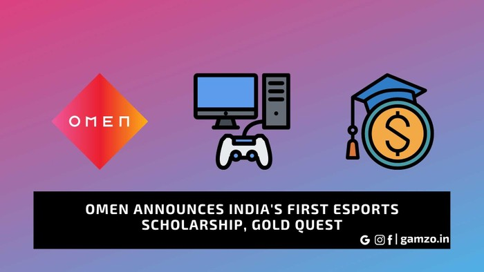 omen announced indias first esports scholarship gold quest