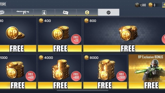 free cp on