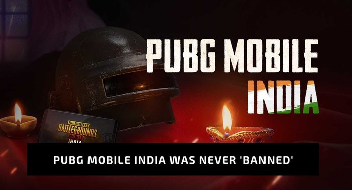 pubg mobile was never banned in india