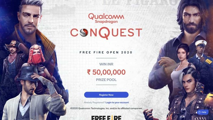 Snapdragon Conquest Free Fire India Open 2020