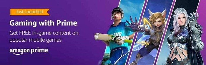 amazon prime gaming in india on