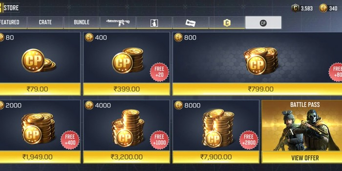 cp price on