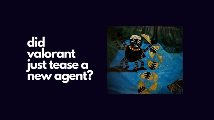 did valorant just tease a new agent on