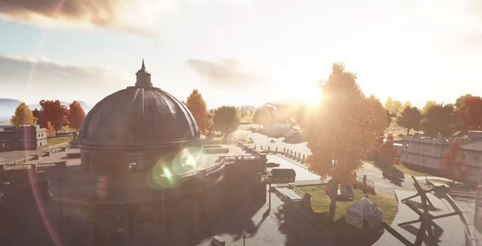 pubg new state graphics dome on
