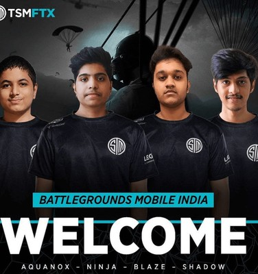 TSM reveals their official BGMI roster consisting of former ST8 players