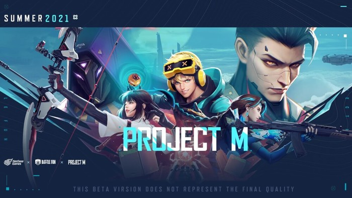 Project M the rip off of Valorant Mobile