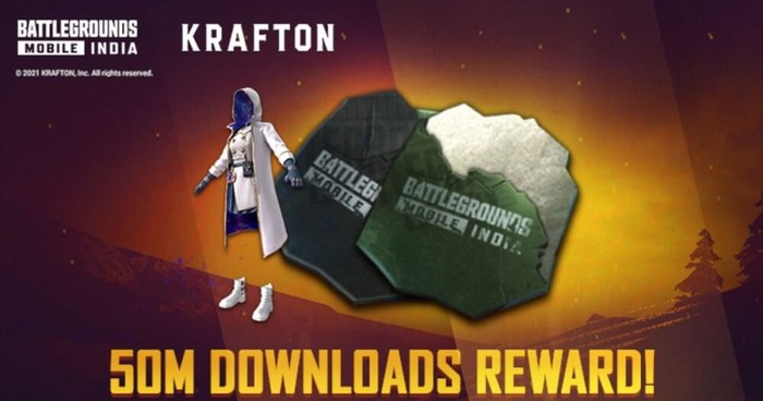 BGMI 50 Million downloads completed: Login to game to collect the exclusive outfit
