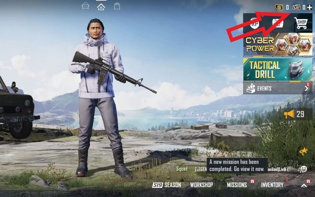 How to buy UC for BGMI through in-game shop, redeem code and more