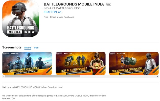 Here is how to download BGMI for ios and play
