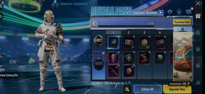 BGMI M4 royale pass leaks and expected release date