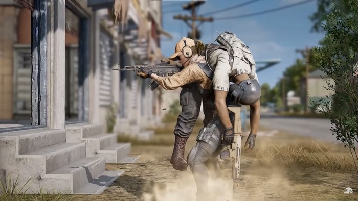 carry feature in pubg