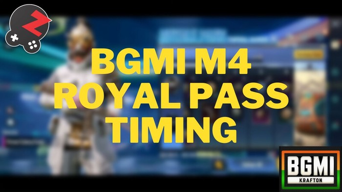 Everything About BGMI M4 Royal Pass Timing | RP Lock and Tier Reset