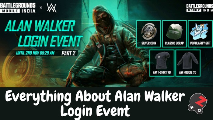 everything about Alan walker login event on