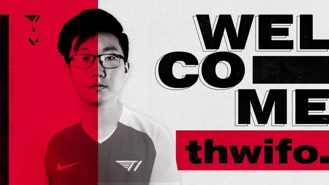 thwifo joins t1 on